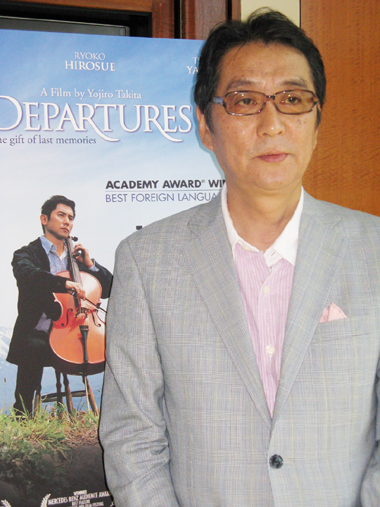 Filmmaker Interview:  Departures' Yojiro Takita