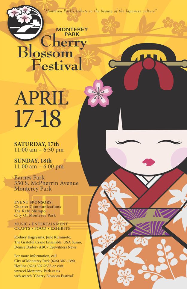 Monterey Park Cherry Blossom Festival, Apr 17, 18