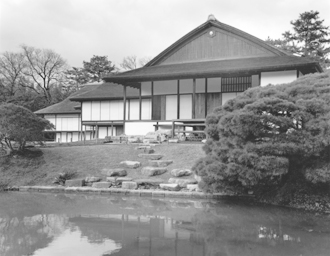 Photo exhibition of historical architecture Katsura Detached Palace of Kyoto at UCLA, April 30 –May 21
