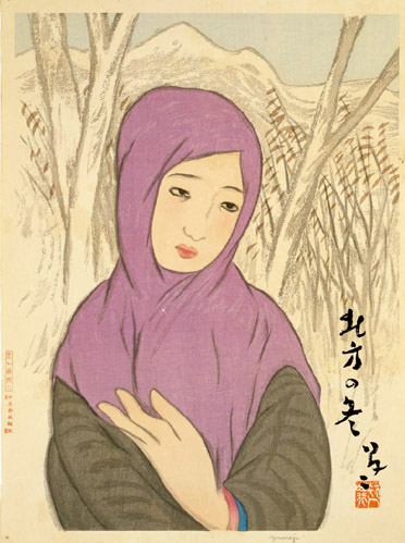 Takehisa Yumeji:  Young German art scholar's falling in love with his art