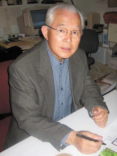 Takeo Uesugi working