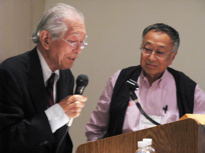 Takase, left, and Terasaki