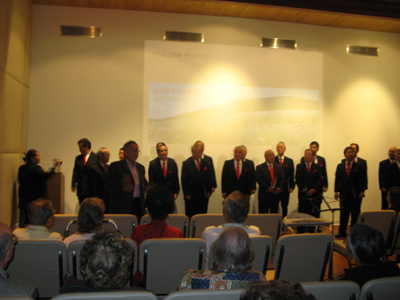 "Lecture Note: ""The Heart of Japanese Song"" with histories and beautiful melodies – LA Men's Glee Club, Oct 20, 2009"