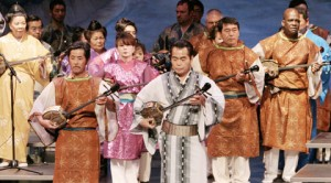 """Okinawa Folk Song"" show at Gardena Buddhist Church, May 16, 2010"