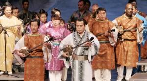 """""""Okinawa Folk Song"""" show at Gardena Buddhist Church, May 16, 2010"""