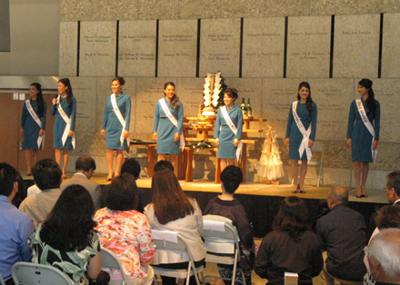 2010 Queen candidates debuted at Nisei Week Opening Ceremony