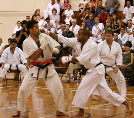 Nisei Week Karate Exhibition at Caltect
