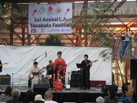 Tanabata Festival Opening Ceremony and Stage Schedule, Aug 13-15