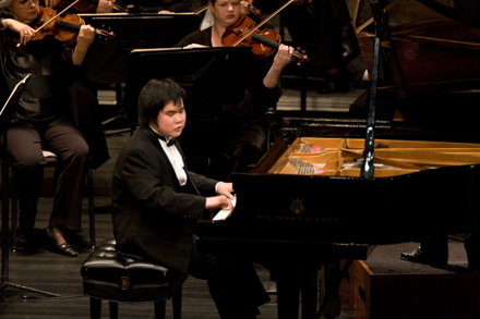 Japanese virtuoso Nobuyuki Tsujii to appear in his Los Angeles premiere under a UCLA Live program, April 3, 2011