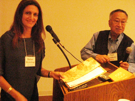 Lecture Note – Hiroshige:  Master of the Printed Landscape -Meher McArthur, Asian art cutator,  July 27, 2010