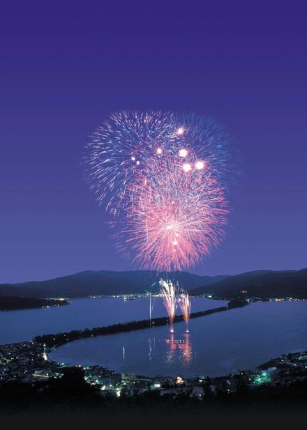 Kyoto Ama-no-hashidate Winter Firework