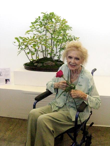 Gloria Stuart (1910 – 2010) Longest living bonsai enthusiast in Los Angeles