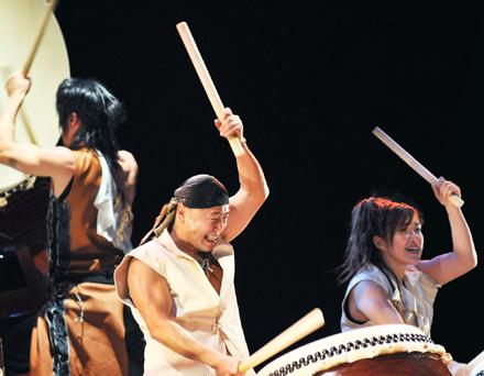 Zi-Pang Trio Taiko Concerts, Sept 25-26