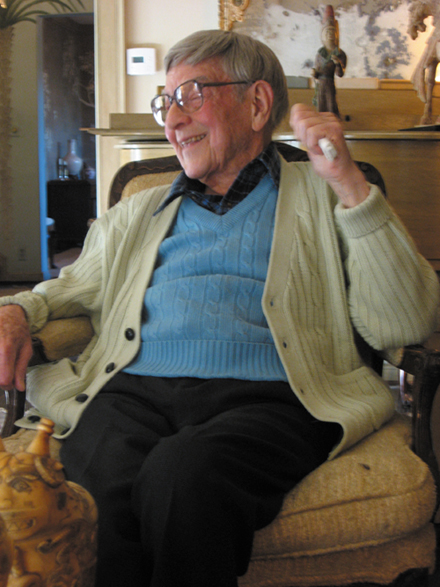 2010 / Nihonga artist Robert Crowder, 99, passed away