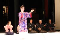 Kotohajime Okinawa dance troupe Majikina Honryu