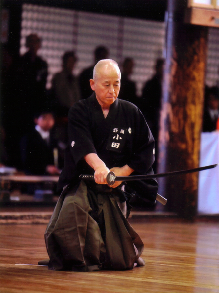 Iaido: Art of drawing and cutting with Japanese sword  Two days seminar to be held at Pasadena, Feb 19-20