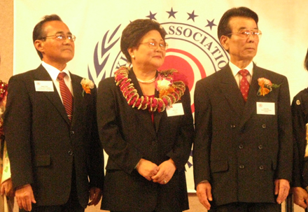 Okinawa Association introduces new president Kimiko Goya