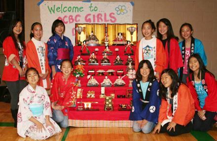 Japanese American younger generation to celebrate Girls' Day / Hinamtsuri (Doll Festival), Feb 25