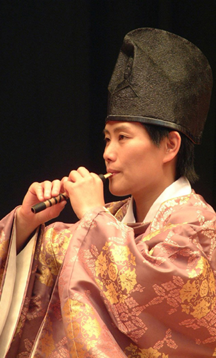 Gagaku Nakamura Hichiriki
