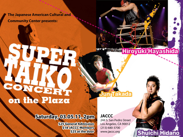 Super Taiko Concert by JACCC