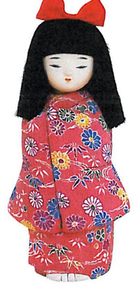 San Diego Garden Kimemomi Doll