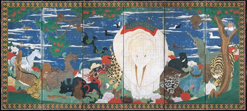 Ito Jakuchu Animal Panel