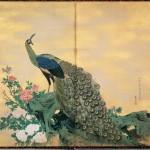 Bowers Museum Price Collection Rosetsu Peacock and Peonie