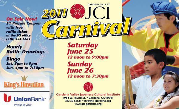 Gardena Valley Japanese Cultural Institute 2011 Carnival