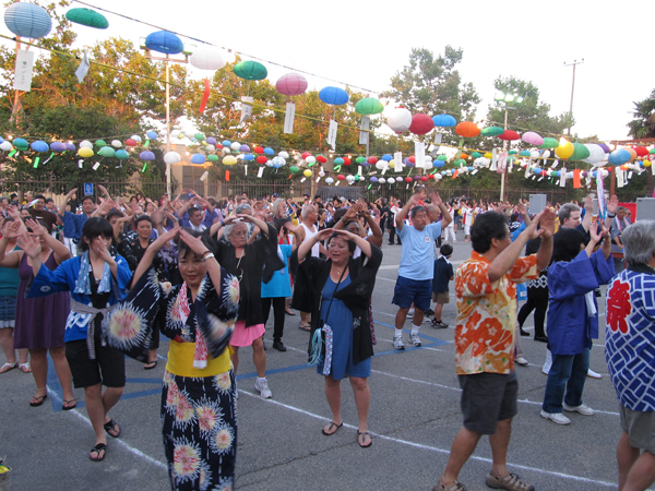 Bon Odori Senshin Buddhist Temple 2011 July 02