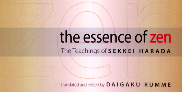 Book design the essence of zen