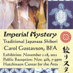 Huchinson Center for the Arts Shibori Imperial Mystery