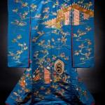 Clark Kimono Blue Uchikake