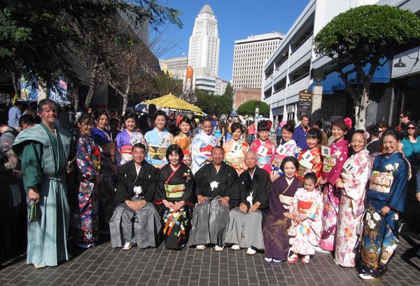 Kimono Club New Year's Day Gathering 2012