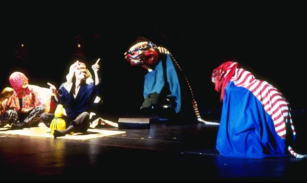 JANM Oshogatsu Shishimai Performance by Kinnara Taiko