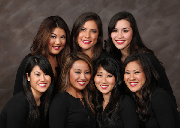 2012 Nisei Week Queen Candidates