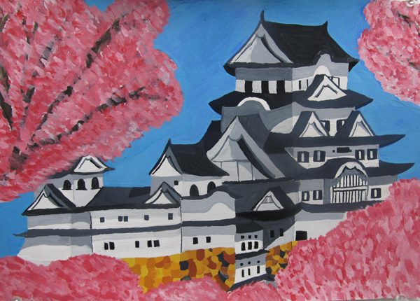 2012 Summer  Nagoya Sakura Art Exhibition at Los Angeles