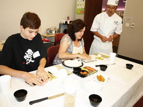 Japan Foundation Making Sushi in Japanese