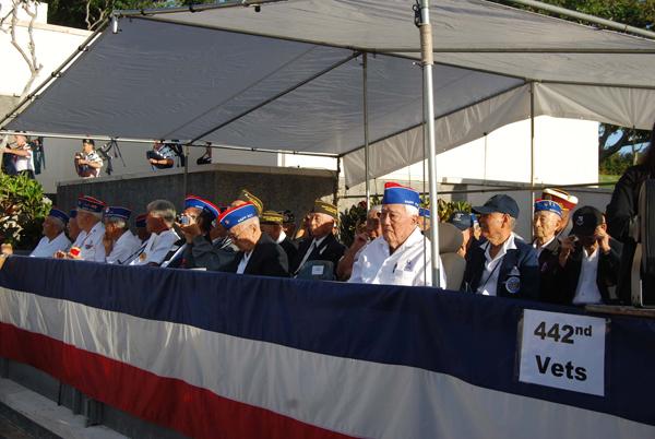20121224 Inouye 442 Veterans