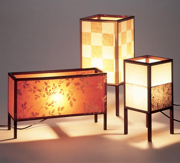 20130604 Handcraft Edo decorated hand-made papers(Edo karakami) Lamp