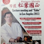 20130712 Samurai Sword Smith Lecture and Performance