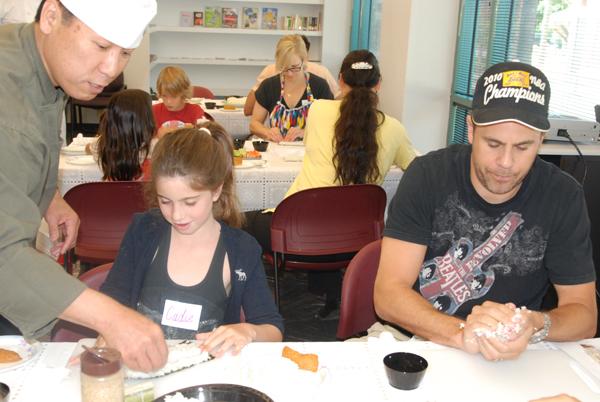 21030710 Japan Foundation Sushi Making Chef Matsuda