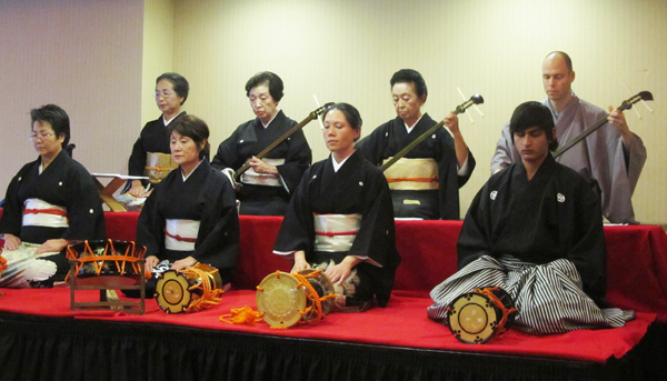 Kabuki music concert by Kishi No Kai (Cultural News Photo)