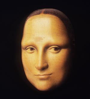 Noh Mask by Bidou Yamaguchi Mona Lisa