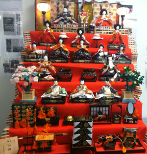 Hina dolls at JCC