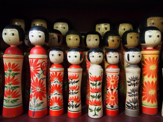 Japan Foudnation Kokeshi