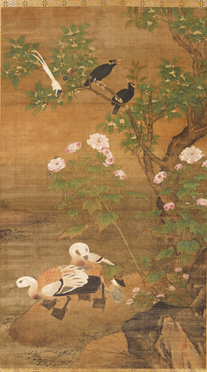 """Lu Jin """"Birds and Flowers of the Four Seasons"""" 15th - 16th century"""