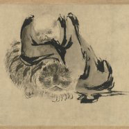 LACMA Chinese Paintings Two Patriarchs