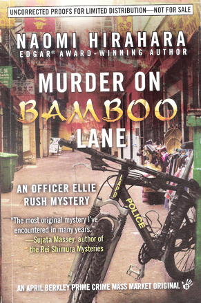 Book Cover Murder on Bamboo Lane