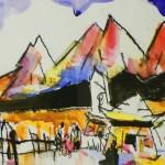 Manzanar Paint Out 2003 Henry Fukuhara