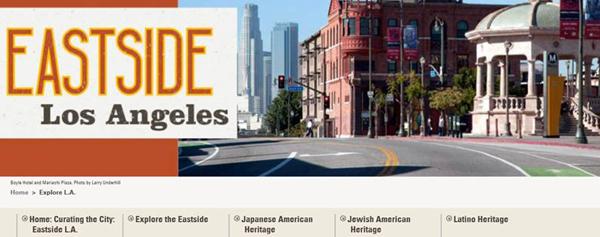 Curating the City Eastside LA